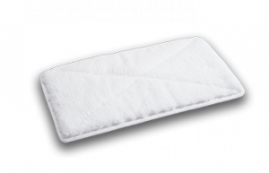 MicroFiber Pad WhiteEspecially suitable for the cleaning of tiles and glass surfaces